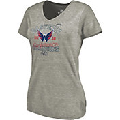 NHL Women's 2018 NHL Eastern Conference Champions Washington Capitals Big Time Play V-Neck T-Shirt