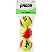 Prince 3-Pack Stage 3 Youth Tennis Ball