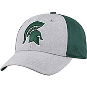 Top of the World Men's Michigan State Spartans Grey/Green Faboo 1Fit Hat