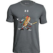 Under Armour Boys' Hot Dog Graphic Baseball T-Shirt