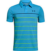 Under Armour Boys' Threadborne Engineered Golf Polo