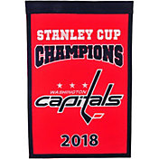 Winning Streak Sports 2018 Stanley Cup Champions Washington Capitals Champions Banner