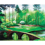 Golf Gifts & Gallery Augusta 12th Hole Canvas Photo