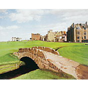 Golf Gifts & Gallery St. Andrews Canvas Photo