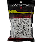 Maxfli 2.75'' White Golf Tees – 200-Pack